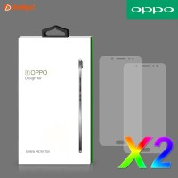 OPPO ORIGINAL TEMPERED GLASS PREMIUM TRANSPARAN ANTI GORES KACA