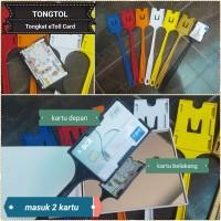 TONGTOL / TONGKAT E-TOLL 2 SISI / 2 Kartu!! eToll Card /GTO/ Tong Tol