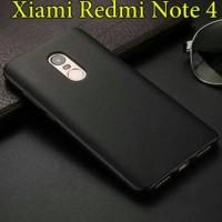 Jual Soft Case Slim Black Matte Xiaomi Redmi Note 4 / 4x Murah
