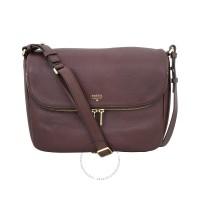 Fossil Preston Flap Bag Espresso ZB5875206 Sling Bag Wanita