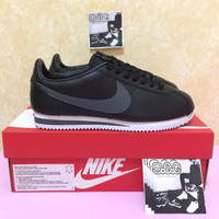 Nike Cortez Leather Black Grey BNIB Original not fly knit jordan