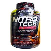 Muscletech MT NitroTech Ripped 4lbs Nitro Tech Whey Protein