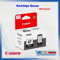 Cartridge Canon Printer E400, E410 Black Catridge PG-47 NEW