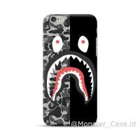 bape shark case Vivo v9 v7 v5 v3 y71 oppo f7 f5 f3 f1s a71 a83 dll