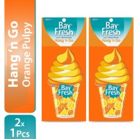 [Twin Pack] Bayfresh Hang N' Go Orange Pulpy x 2pcs