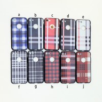 TPU Burberry Case Iphone 5 5S SE 6 6S 6+ 6S+ 7 7+ 8 8+
