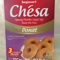 Chesa Donat Bogasari Tepung Premix Donut 411 gram