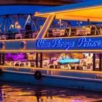 Tiket dinner Cruise ChaoPhraya Princess all you can eat dewsa Thailand
