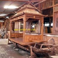 Furniture Antik Jati Bekas Prau/Kapal brp Lesehan Prau China (Jo-I.3)