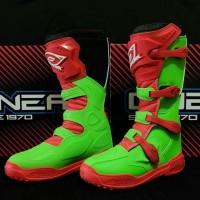 Sepatu Cross / boots MX merk Oneal Element MX Seri VI murah