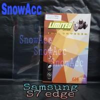 Anti Gores samsung S7 Edge full cover screen guard S7edge limited