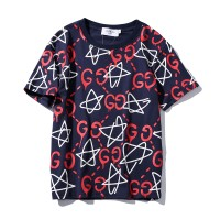 TSHIRT KAOS BRANDED PRIA GUCCI GHOST STAR FULL PRINT MIRROR QUALITY