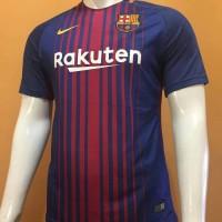 Jersey Baju Kaos Barca Barcelona Home 17/18 Grade Ori Murah Futsal
