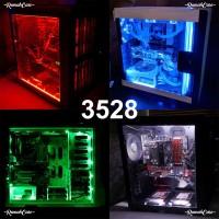 LED STRIP 3528 50 CM MOLEX PC MOD Lampu hias modif casing Komputer DC