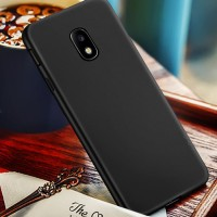 Black Matte Samsung J7Pro J7 Pro J730 2017 Ultrathin Soft Case Silicon