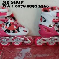 Jual sepatu roda anak motif Loreng Murah