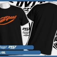 Kaos T shirt All New Honda Beat Street Logo