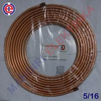 Pipa Tembaga 5/16 in (8 mm) NS, Pipa Kulkas / AC Meteran Berkualitas