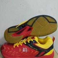 sepatu badminton RS SND LIMITID red original