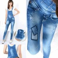 Jual celana jeans wanita celana jens panjang overall Murah