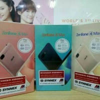 HP Asus Zenfone 4 Max PRO ZC554KL - Ram 3Gb Internl 32Gb Garansi Resmi