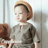 Jual Baju Kaos Kemeja Koko Gamis Anak Bayi / Ohkey Cappucino Murah