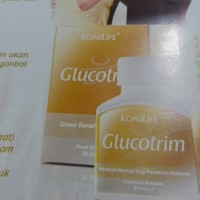 Diabetes/diet/glucotrim/konilife Glucotrim/30 Kapsul