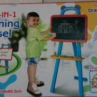 MULTICOLOR Learning Easel 3 in 1 / Drawing Board