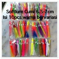 Umpan / Soft Lure / Cumi / Squid / Octopus / Pancing / Assist