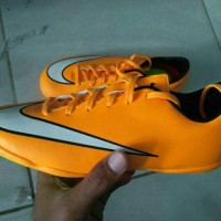 sepatu futsal anak nike mercurial victory yellow original