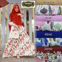 Baju Terusan Wanita Muslim Longdress Shafira Syari