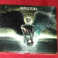 cd SEPULTURA kairos special cd dvd
