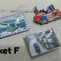 Bundling Magnet Kulkas/Souvenir Mancanegara