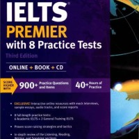 Buku Kaplan Ielts Premier With 8 Practice Test