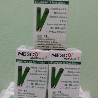Jual Strip Nesco Glukosa Gula darah Expired 04 - 2019 Murah