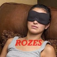 Penutup Mata Tidur Sleep Eye Mask Travel Masker Pelelap Tidur insomn