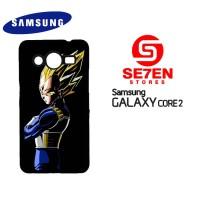 Casing Samsung Galaxy Core 2 Dragon Ball Z Vegeta Custom Hardcase
