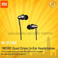 1MORE Quad Driver In-Ear Headphones for IOS and Android