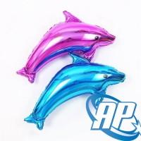 Balon Ikan Lumba jumbo/ Balon Lumba lumba/ Balon Foil dolphin/ dolpin