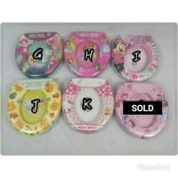 Jual Soft Potty Seat/Ring Closet Karakter (NON-Handle) for Toilet Training Murah