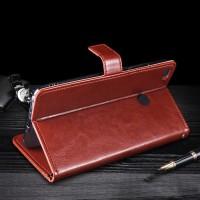 Harga leather flip cover wallet xiaomi mi max 2 mimax 2 case casing kulit | Pembandingharga.com