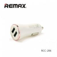 Remax Dolfin USB Car Charger 2 PORT - ROSE