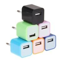 Charger USB EU Plug - A1265 WARNA HITAM