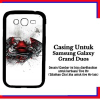 Casing Samsung Galaxy Grand Duos Batman V Superman logo Custom Hardcas