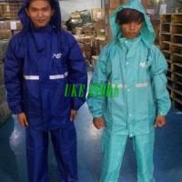 Jas Hujan ASV 3 Bahan Parasut Jaket Celana Hujan Motor Model Axio 20