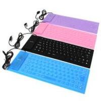 Keyboard Flexible Kecil Anti Air / Keyboard Lipat