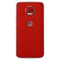 Skin Handphone Motorola Moto G5S Plus - 3M Red Carbon