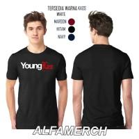 Baju Distro Kaos YOUNG LEX YOUNGLEX keren Pria Wanita