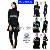 Jual Baju Renang Muslimah Ukuran M, L dan XL Dewasa ES-ML-DW-100 Murah