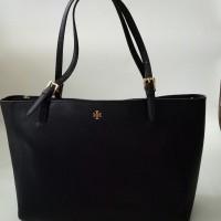Tory Burch York tote hand bag tas asli ori authentic leather second
